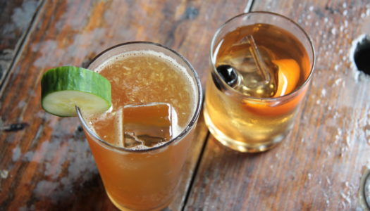 SB Sipper: Pimm's Cup & Old Fashioned