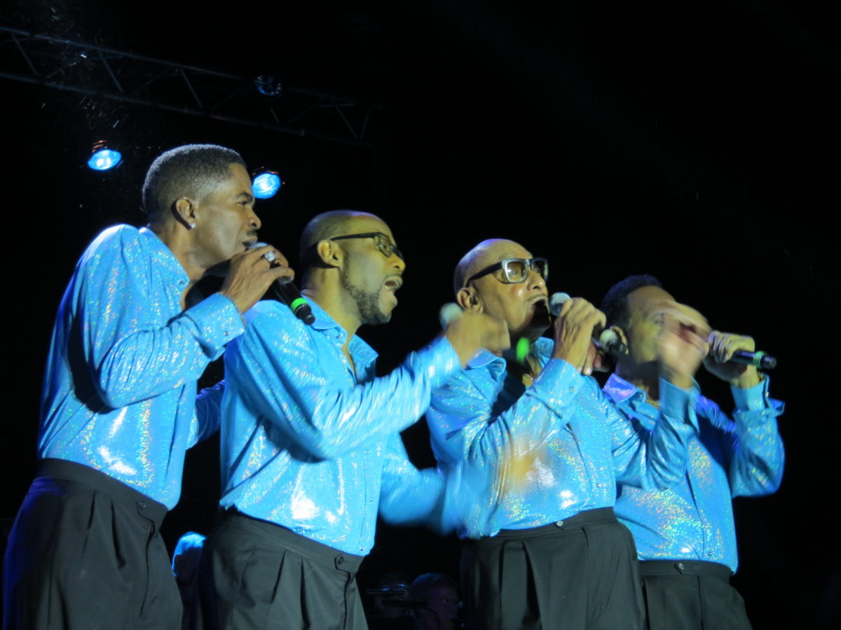 The Four Tops at DiamondJacks