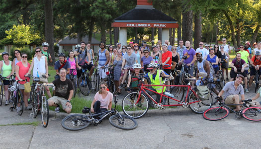 Slow Roll with Bike Shreveport