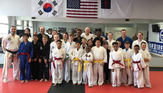 Kickin' It With Bourgeois' Martial Arts Academy