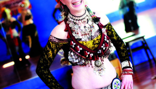SB Art: Laurel Fleming Richie, Belly Dancer and Hoop Performer