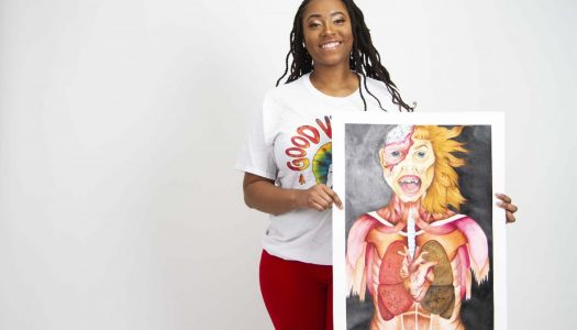 SB Art Junior: Zaria Jones, Haughton High School