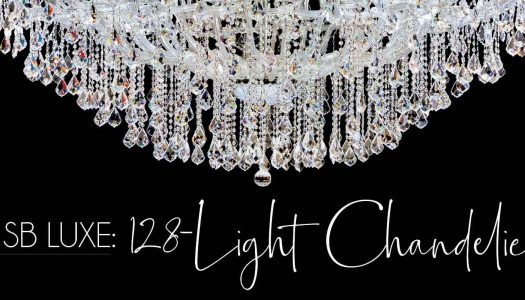 SB Luxe: 128-Light Chandelier