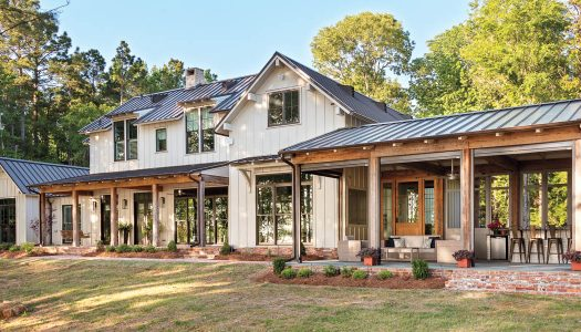 Modern Farmhouse Meets Grand Bayou