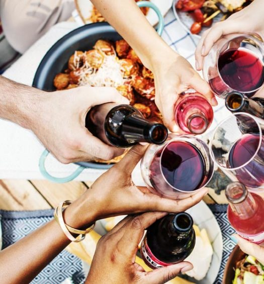 SB Magazine: Sip On This: Wine Pairing