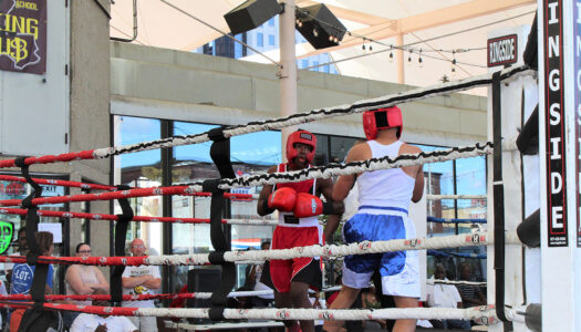 George Dement Boxing at The Lot 2021
